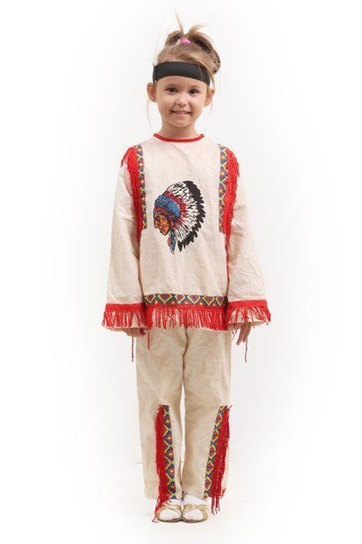 Детские Костюмы Индейцы