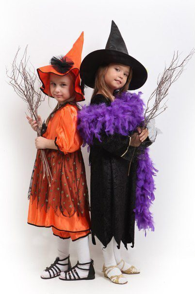Хэллоуин костюмы своими руками быстро